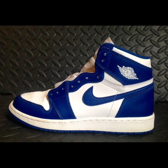 77576f3b1964ef Jordan Other - AIR JORDAN RETRO 1 OG HIGH WHITE STORM BLUE used